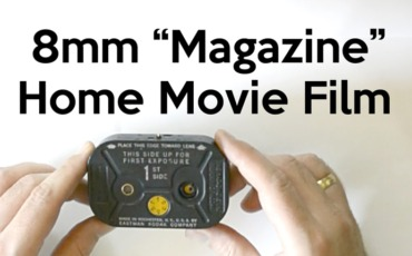 8mm Magazine Home Movie Film