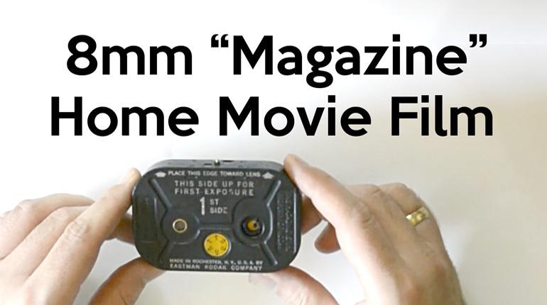 8mm Magazine Home Movie Film