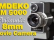 Emdeko EM 5000 8mm (Double 8) Home Movie Camera – Overview