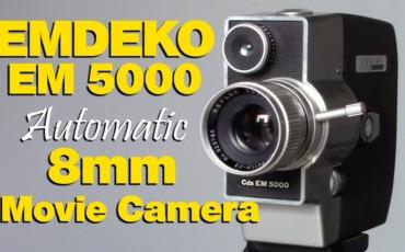 Emdeko EM 5000 8mm (Double 8) Home Movie Camera – Overview