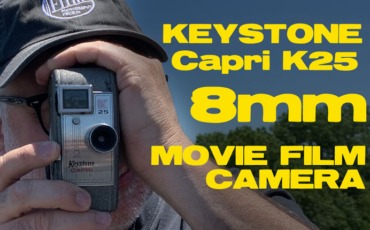 Keystone Capri K25 8mm (Double 8) Movie Camera Overview / Loading