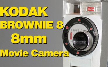 Kodak Brownie 8 f2.7 8mm (Double 8) Movie Camera – Overview