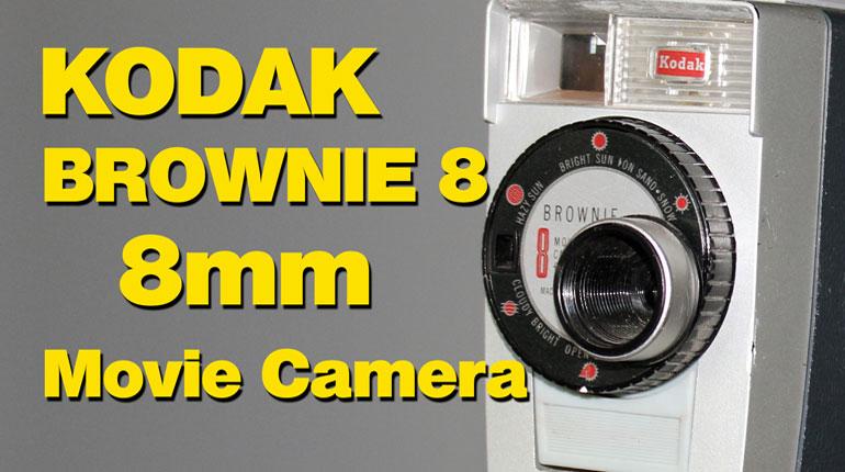 Kodak Brownie 8 f2.7 8mm (Double 8) Movie Camera – Overview