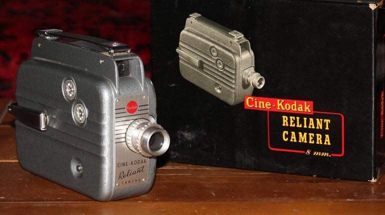 Kodak Reliant 8mm (Double 8) Home Movie Camera Overview