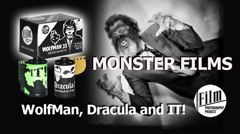 FPP's New Monster Film – WolfMan + Drac is Back! IT's Last Gasp!