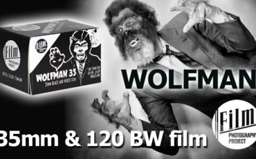 Film Photography Project WOLFMAN 35mm BW Film!