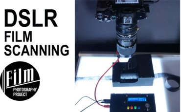 DSLR Film Scanning using the Cameradactyl Mongoose!