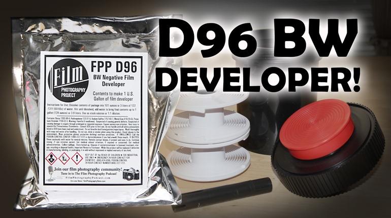 FPP D96 BW Developer – New & Recommended!