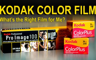 KODAK COLOR FILM – What's the Right Film for Me?