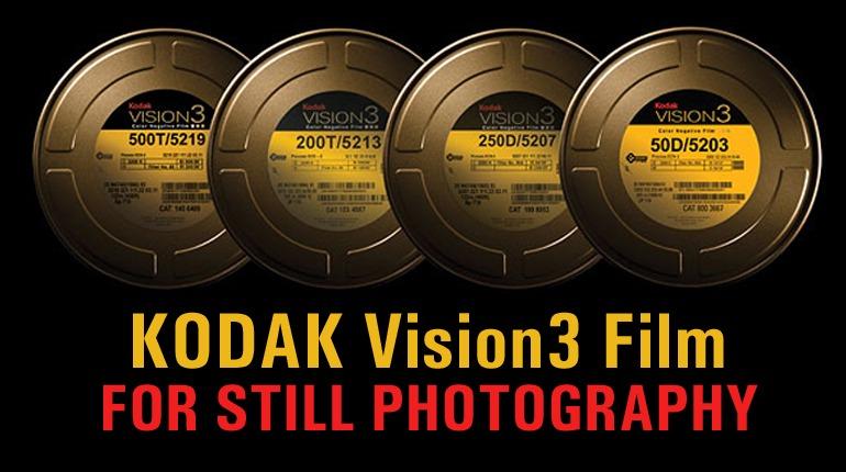 Kodak Vision3 Movie Film for your Still Photography!